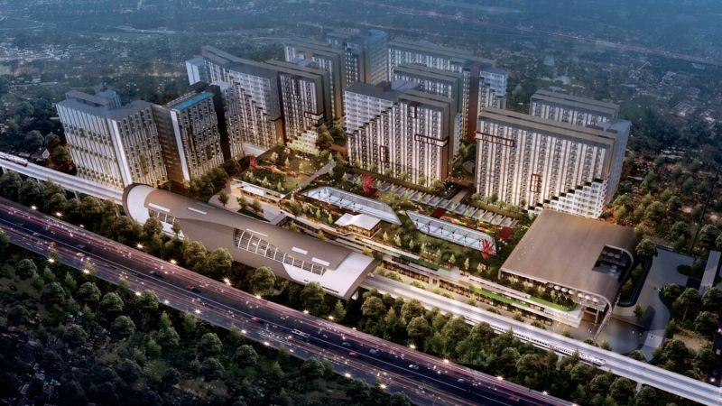 Adhi City Sentul Perumahan Dekat Stasiun LRT Sentul Bogor
