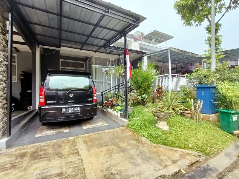 Dijual Rumah Minimalis di Cluster Green Valley Sentul City P