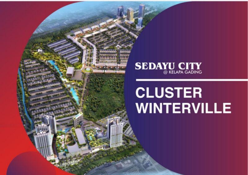 Rumah Milenial Sedayu City @Kelapa Gading Harga 1,8 Man Siap Huni