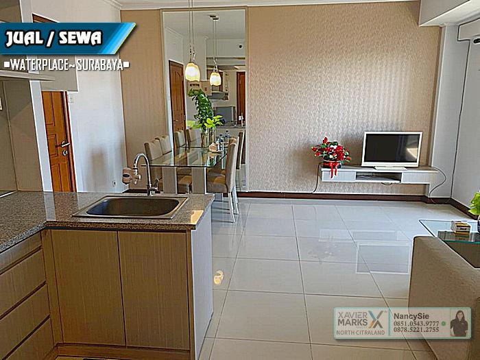 Apartemen WaterPlace Pakuwon indah Surabaya - 3 BR Luas 85m.