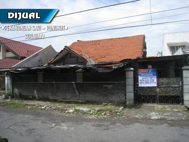 Rumah di Penjaringan Sari, Rungkut, Surabaya ~ 481m², SHM