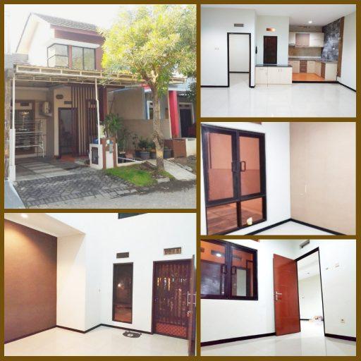 Rumah dijual murah Puri Surya Jaya cluster depan, Gedangan