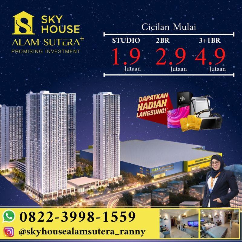Apartemen Sky House Alam Sutera MP372