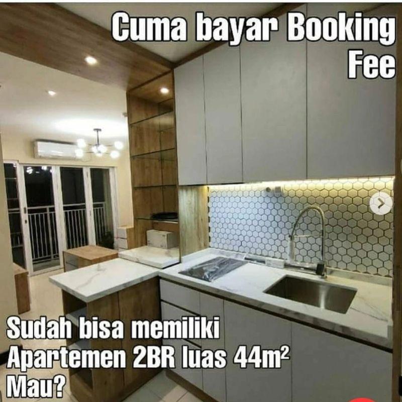 Apartemen Siap Huni di Jakarta Cuma Bayar Booking Fee PR1791