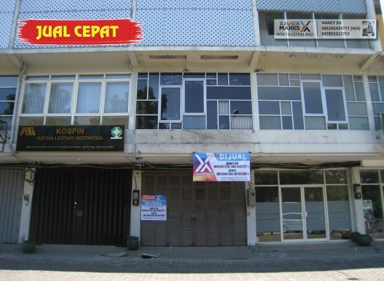 Ruko Icon 21 MERR, Surabaya - Hadap Jalan Raya, 4 Lantai