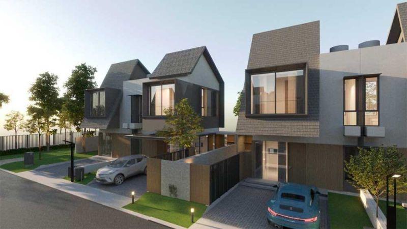 Shila at Sawangan, Rumah Townhouse Exclusive dan Strategis MP378