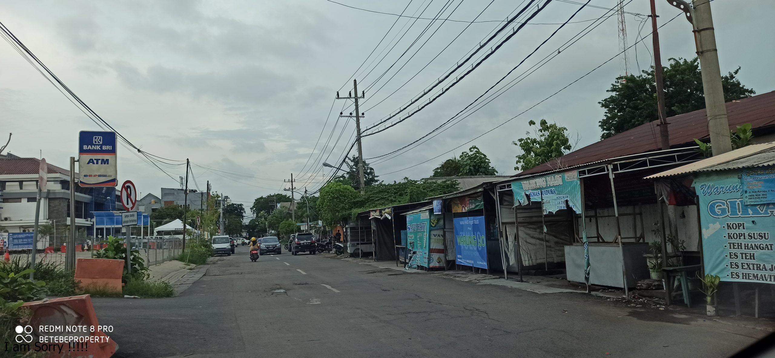 Dijual Tanah di Jalan Colombo Perak - Surabaya